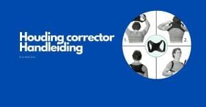 houding corrector handleiding